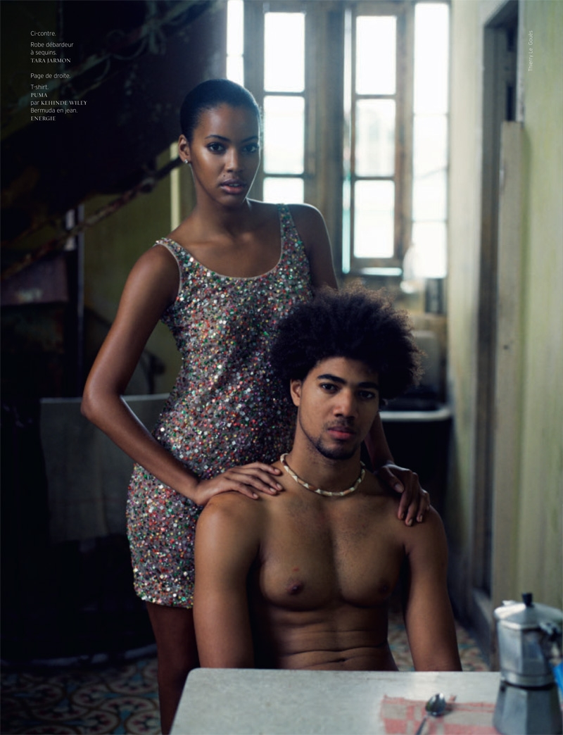 фотомодель фотографы модели мода fashion story fashion  Кубинская простота в Revue de Modes, весна 2010