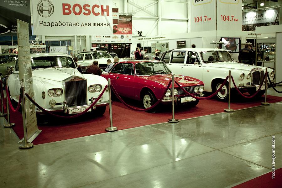 Rolls-Royce Silver Cloud III, Alfa Romeo 2000 GT, Daimler DS-420