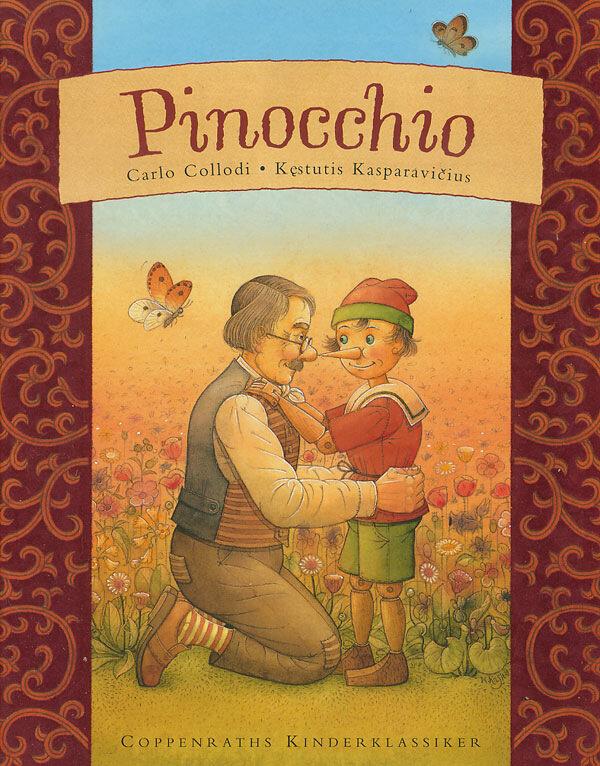 Пиноккио. Иллюстратор Кестутис Каспаравичус