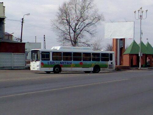 Новый газовый ЛиАЗ на базе ЛиАЗ-5256