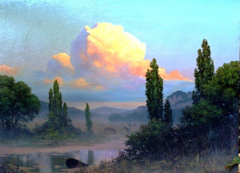 Картины художника Алексея Капустяна (12)