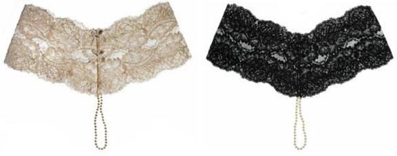 Myla lingerie жемчужный пояс