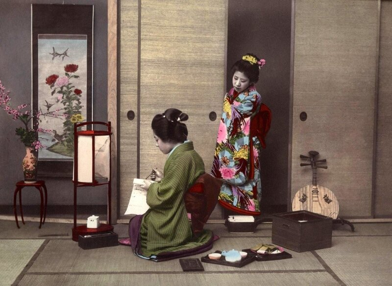Ретро Япония.