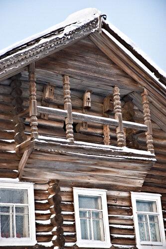 Балкон дома в Рубчейле