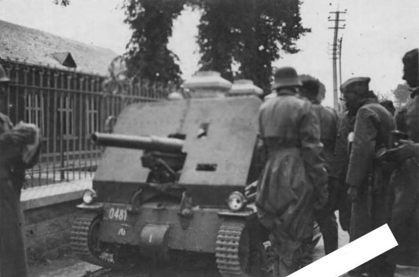 Бельгийская танкетка Vickers Carden-Loyd Mk.VI с 47-мм пушкой.