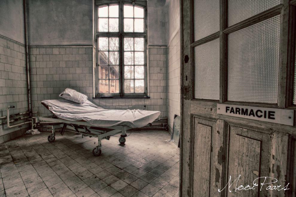 4. Чтобы скрасить существование непростых пациентов, вернее, пациенток, вокруг больницы распола