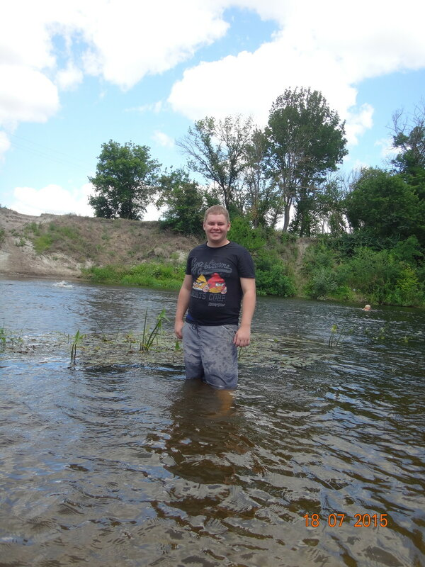 Мой третий заплыв на байдарках.