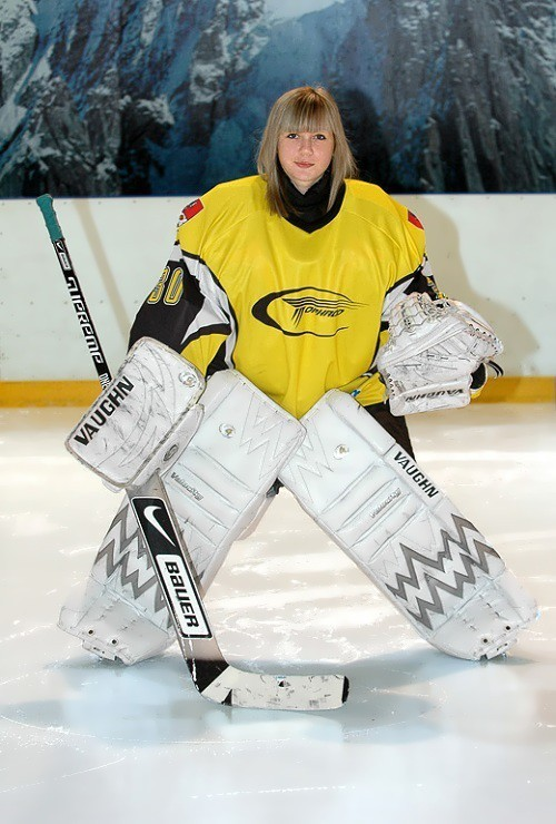Хоккейный вратарь России – Анна Пругова