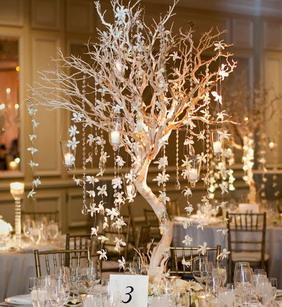 Декор свадбных столов