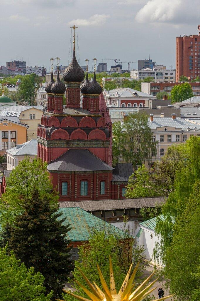 Панорама Ярославля - Церковь Богоявления Господня