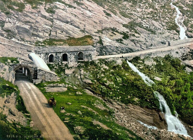 28. Перевал Симплон, туннель Холодной воды