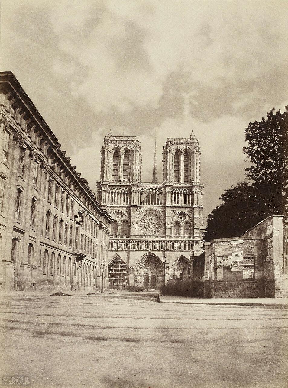 1863. Собор Парижской Богоматери
