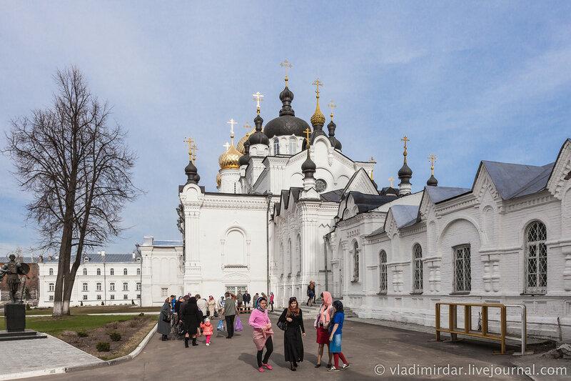 Богоявленский собор. Богоявленско-Анастасиин женский монастырь. Кострома.