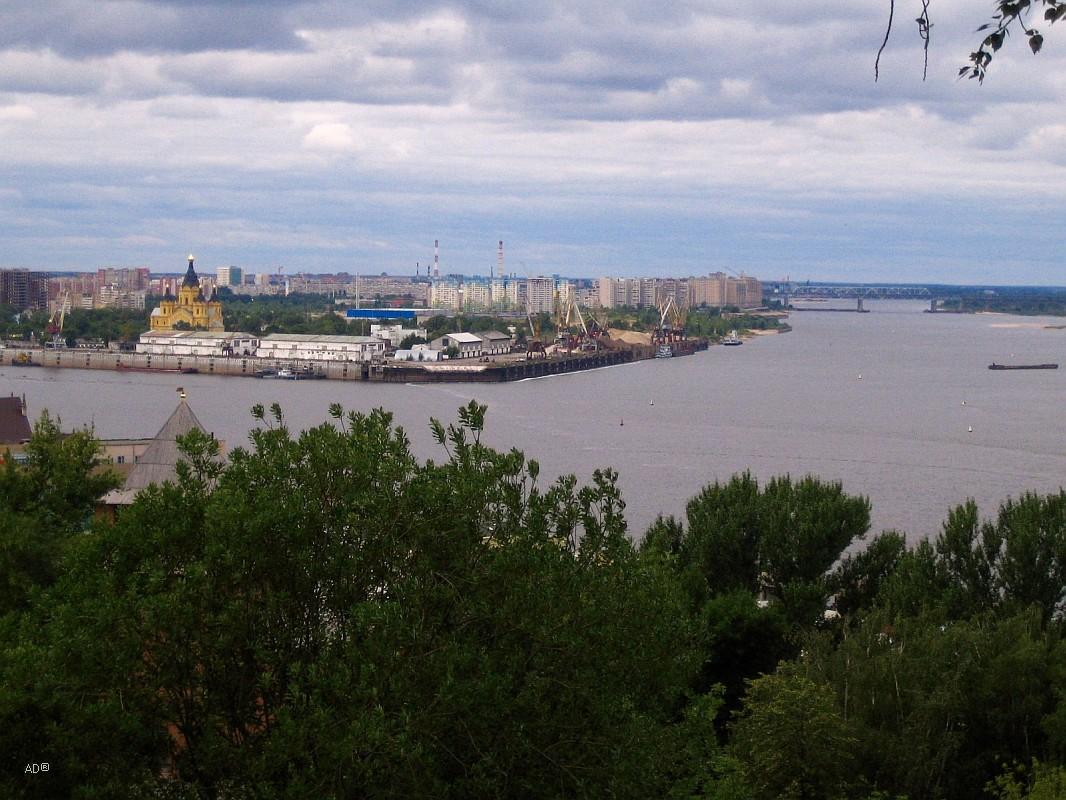Нижегородский грузовой речной порт
