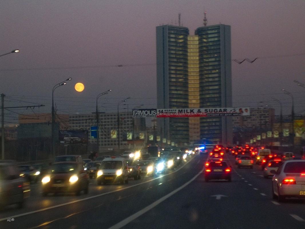 Правительство Москвы (бывшее здание Совета экономической взаимопомощи (СЭВ))