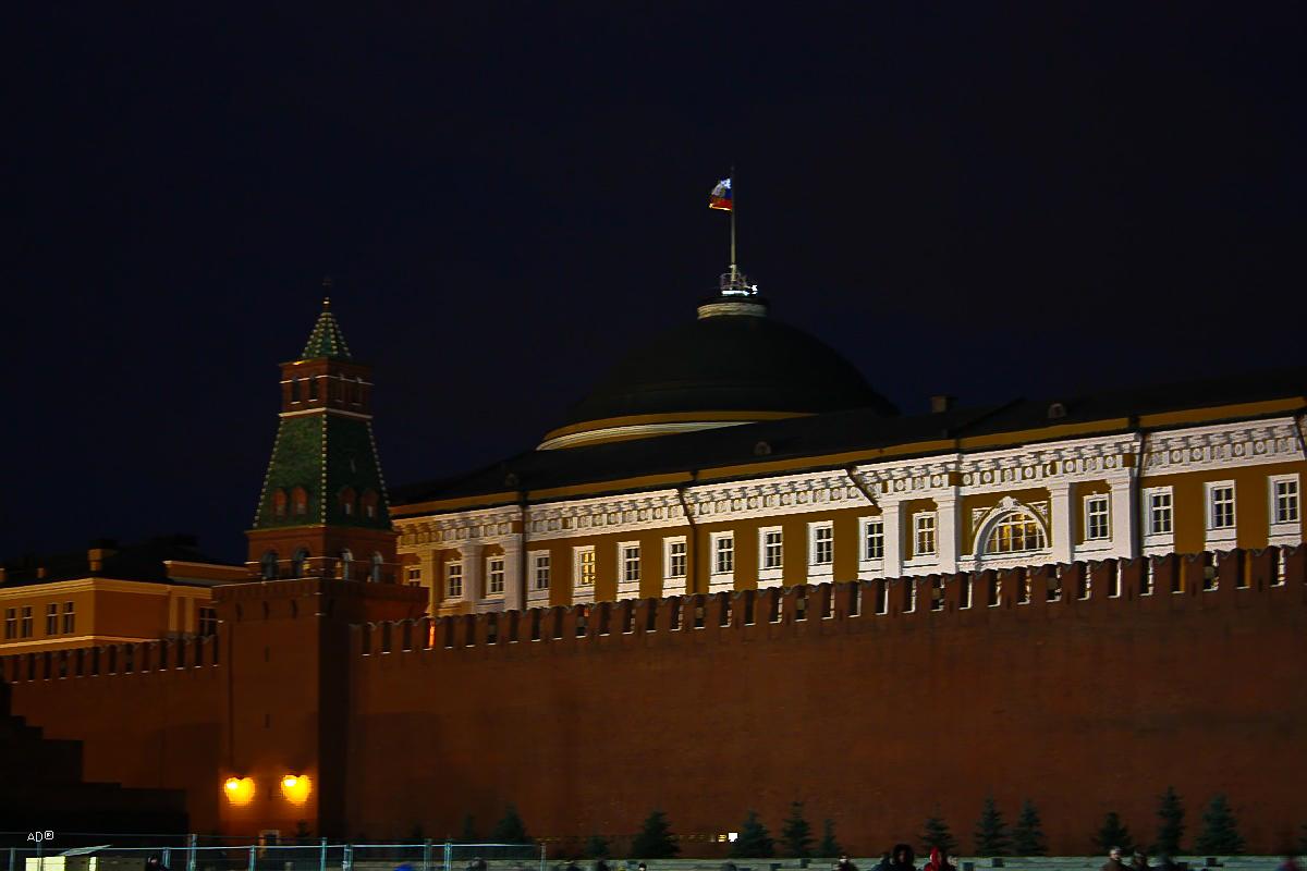 Сенатская башня и Сенат