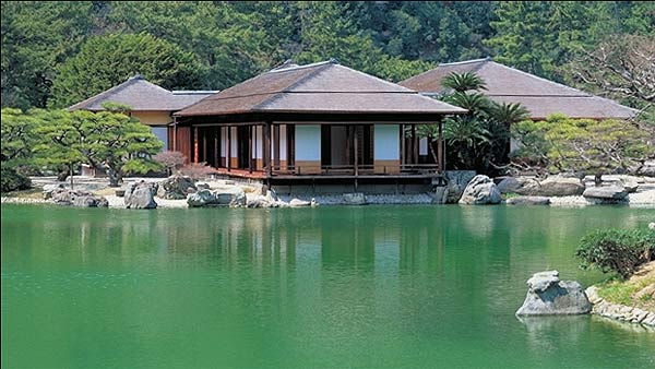 японский сад такагава фото