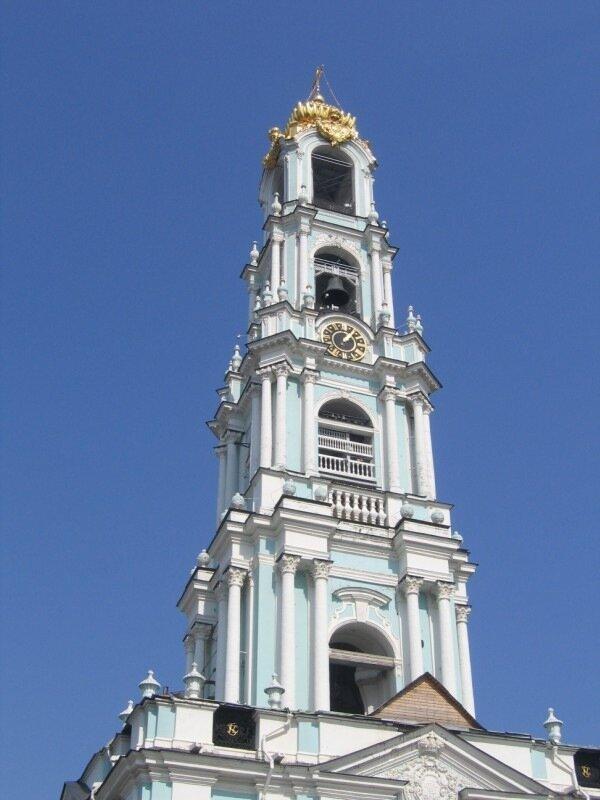 Колокольня Троице-Сергиевой лавры
