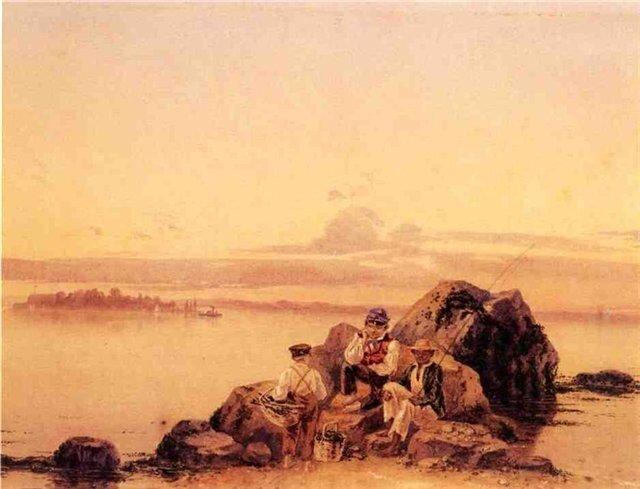 Джеймс Гудвин Клонней День рыбалки.