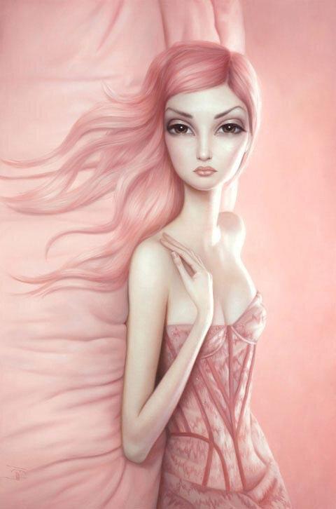 Художница-сюрреалист LoryE arley