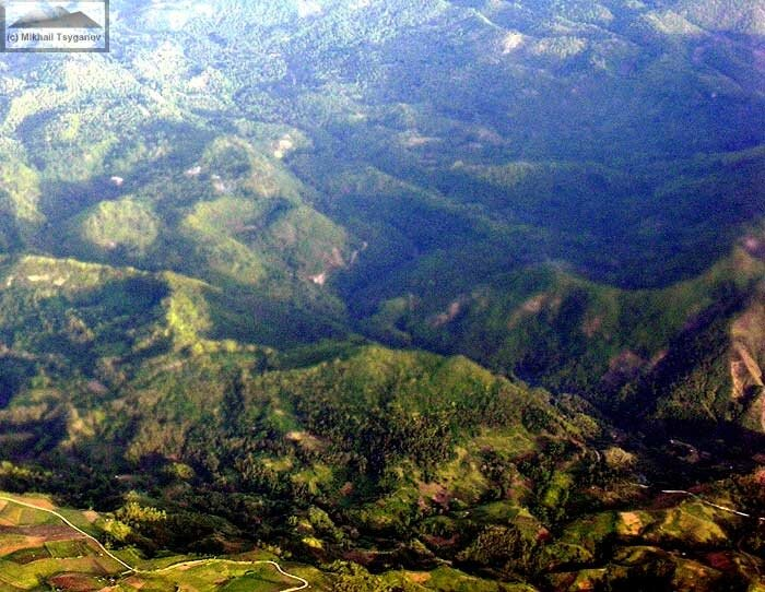 Летим над Филиппинами