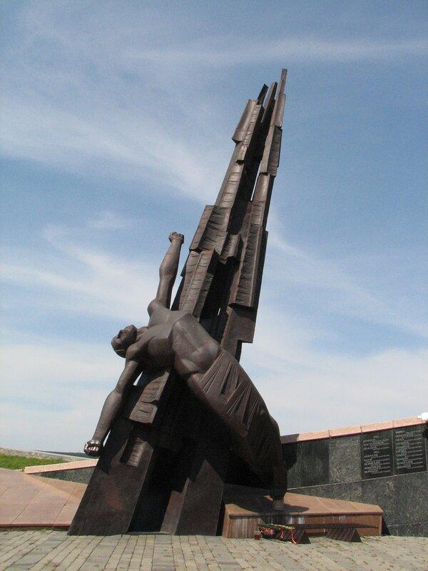 Памятник воинам-кузбассовцам погибших в локальных войнах и военных конфликтах