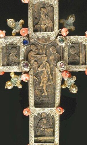 Blessing Cr Греция, 18 в. aверс ФРАГМЕНТ