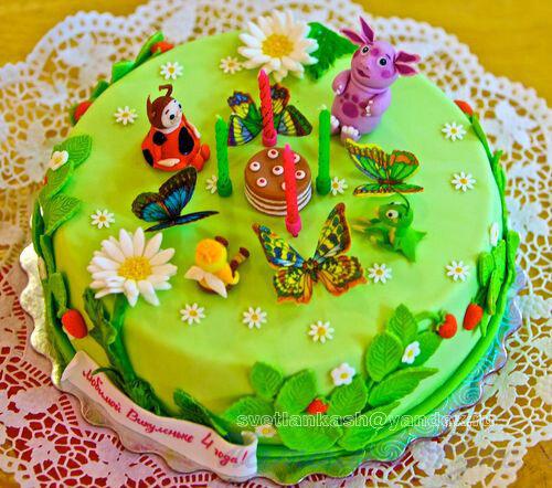 Праздничные торты для детей фото