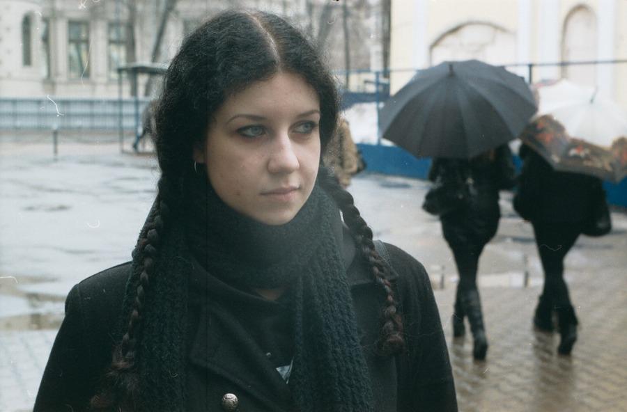 2010, девушка, лицо, молодая, москва, пленка, плёнка, россия, портрет