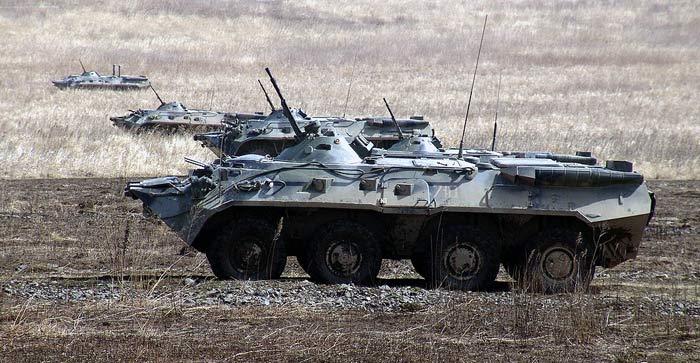 В  Приморье состоялись  тактические учения бригады морской пехоты ТОФ (ФОТО)