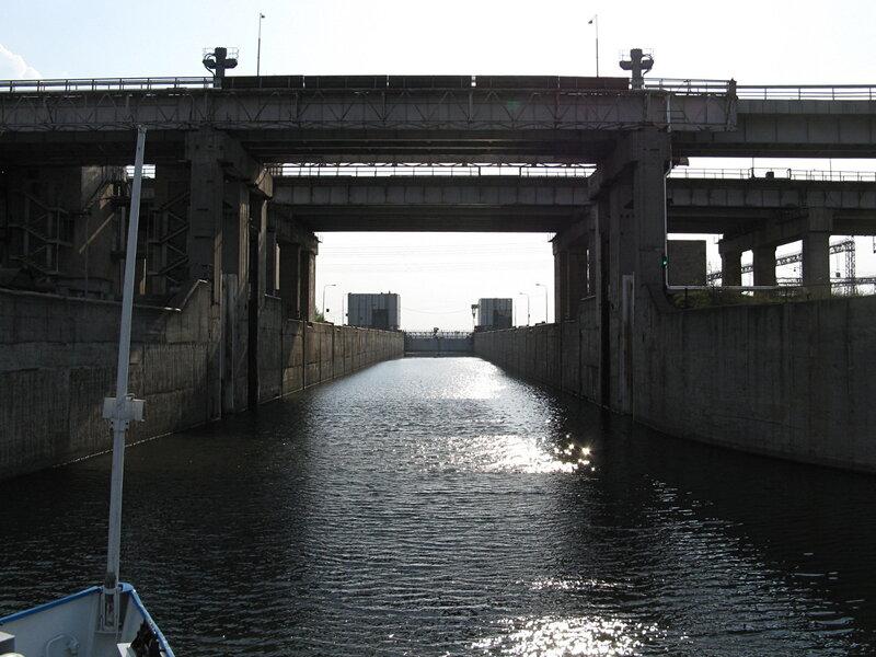 Шлюзы Нижнекамской ГЭС