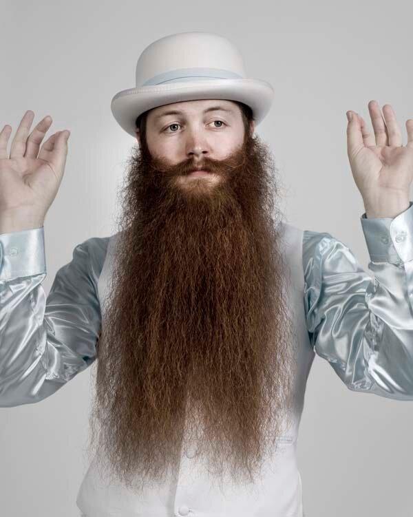 Удивительные бороды и усы