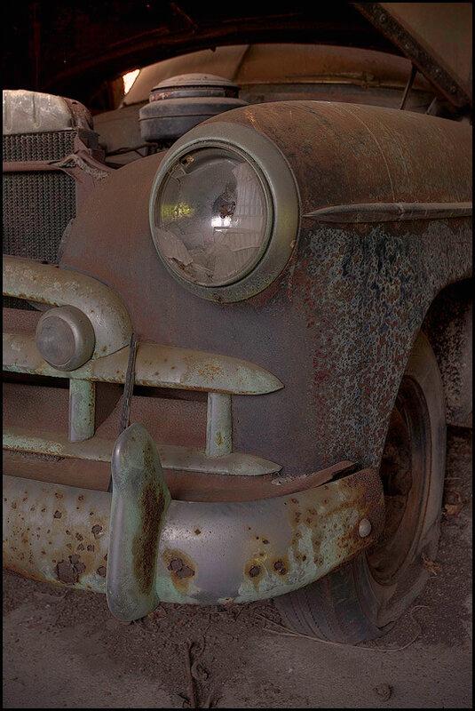 Ретро машины.Неожиданные находки