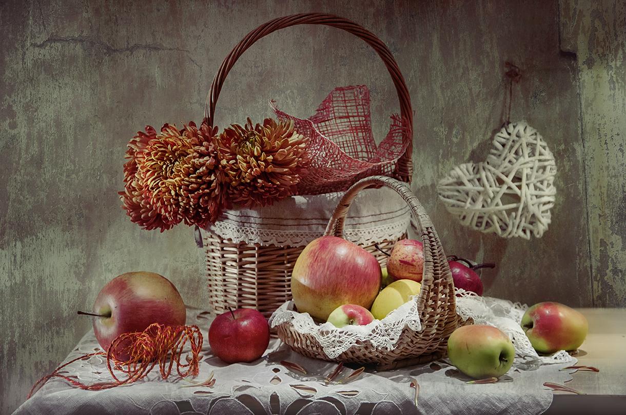 В яблочный сезон...