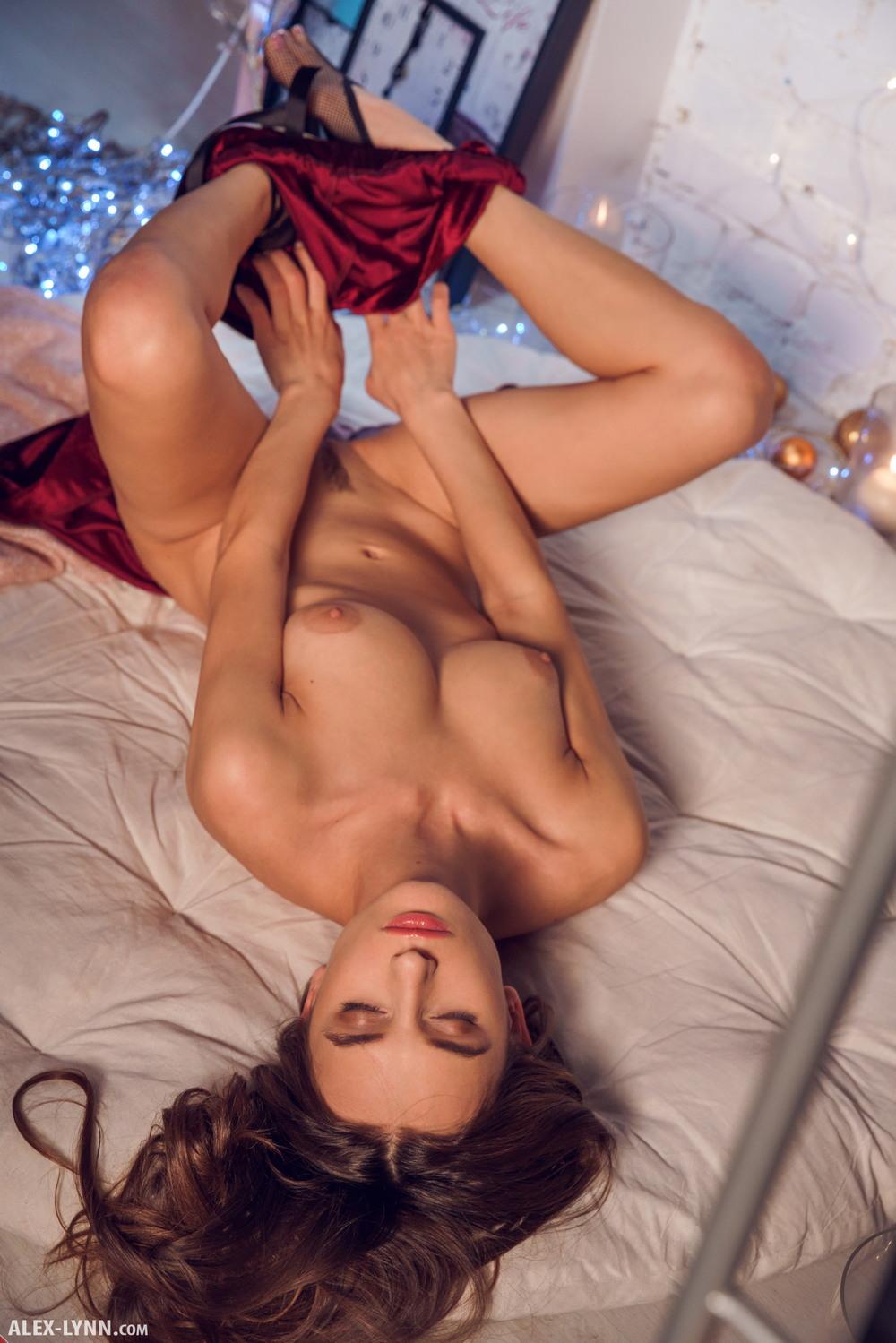 Gloria Sol в новогодней фотосессии