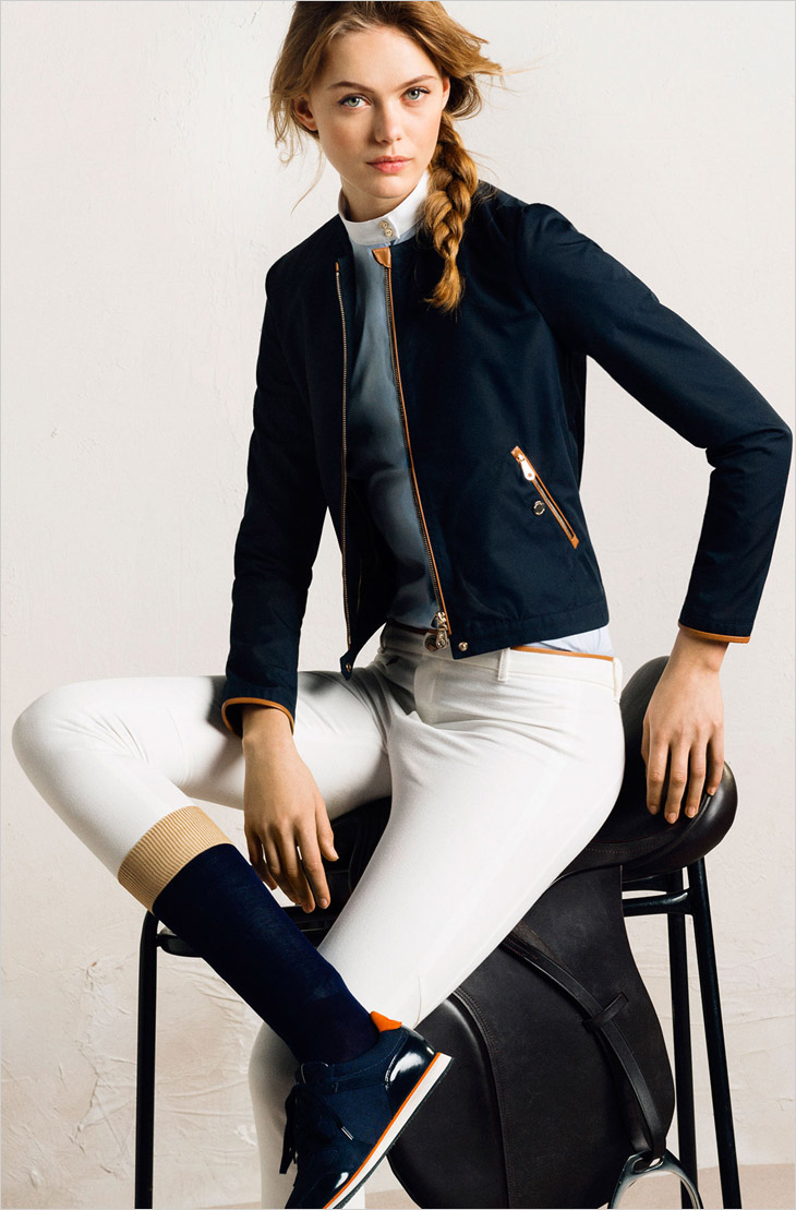 Фрида Густавссон новое лицом рекламной кампании Massimo Dutti 2014