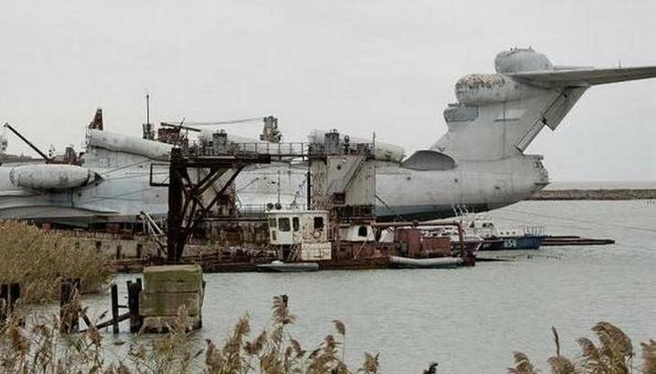 350 тонн мощи Этот тип корабля во время полета использовал так называемый экранный эффек