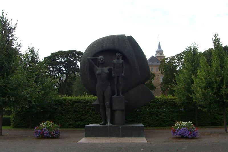 Памятник женской эмансипации. Норвегия, Осло