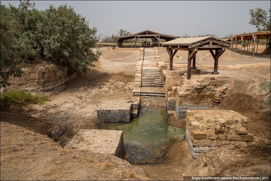 Восточный берег реки Иордан