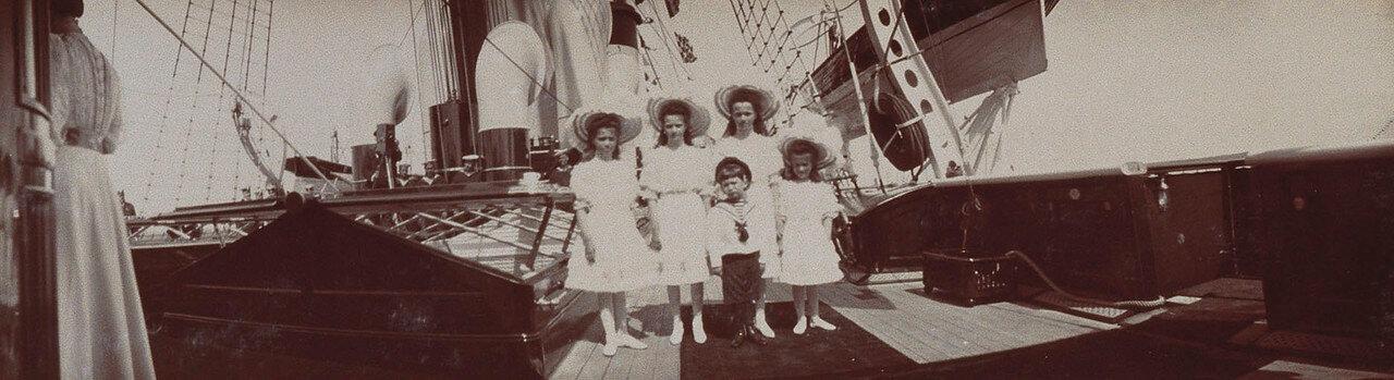 32. Пять детей Николая II