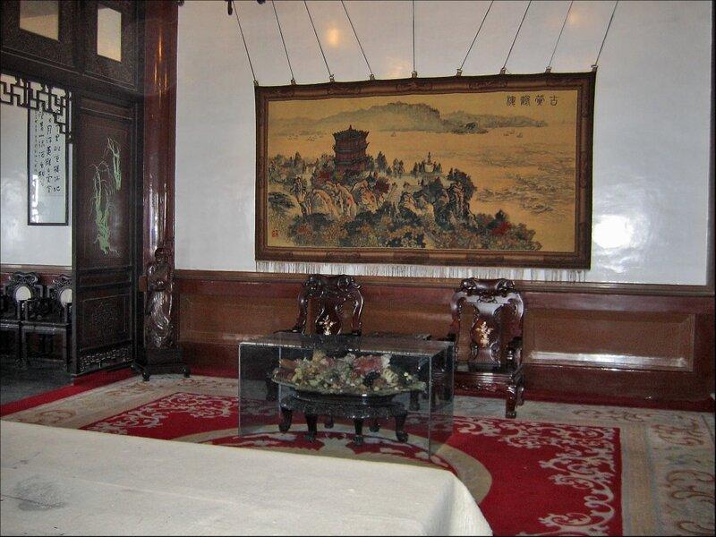 Интерьер внутри Хуанхэлоу