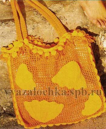 пляжные сумки крючком со схемами - Сумки.