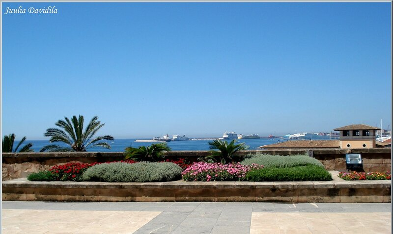 La Almudaina. Вид с террасы.