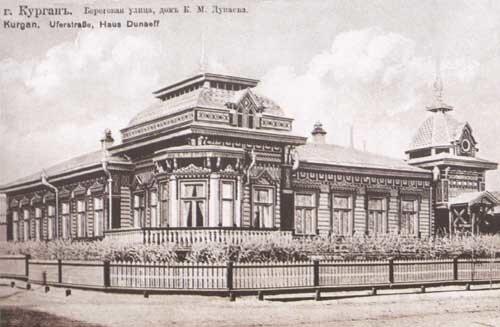 Дом купца Дунаева - одного из первых покупателей изделий Брокара
