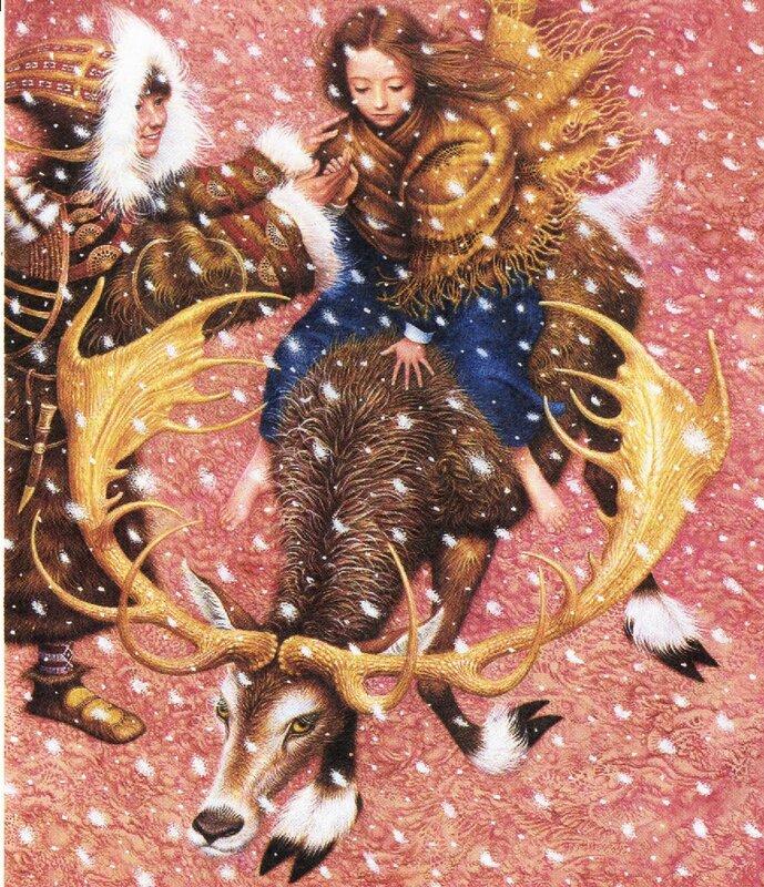 Владислав Ерко, Снежная королева, иллюстрации
