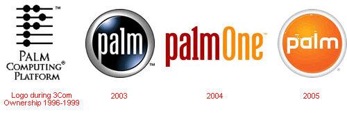 palm logo evolution