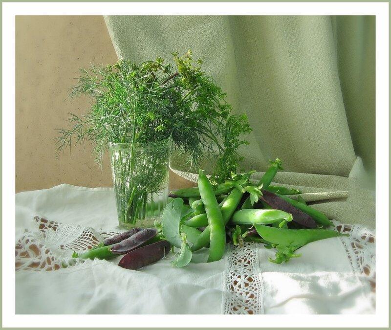 О зеленом горошке