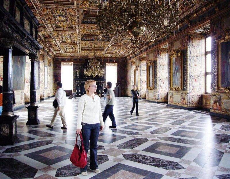 Большой Рыцарский зал замка Frederiksborg.