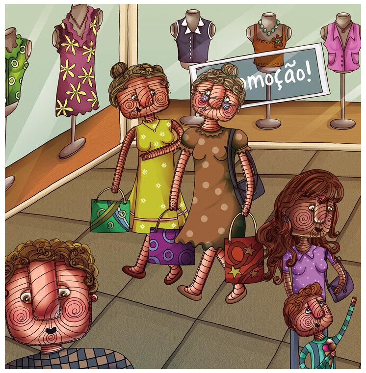 Красивые иллюстрации от Anna Anjos
