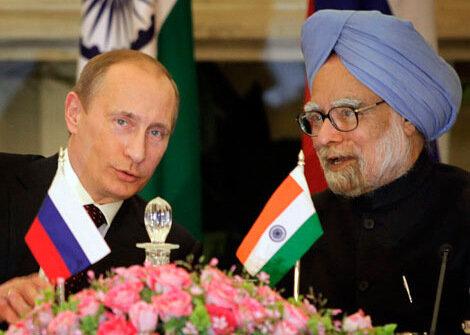 Визит Владимира Путина в Дели. Фото Вести.Ру